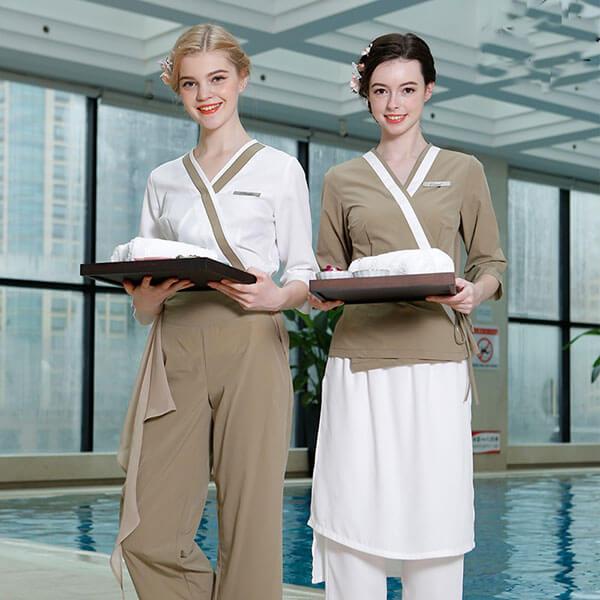 Đồng phục spa, Đồng phục nhân viên spa