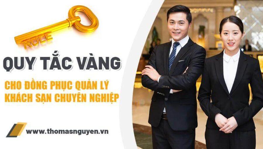 Quy tắc vàng cho đồng phục quản lý khách sạn chuyên nghiệp