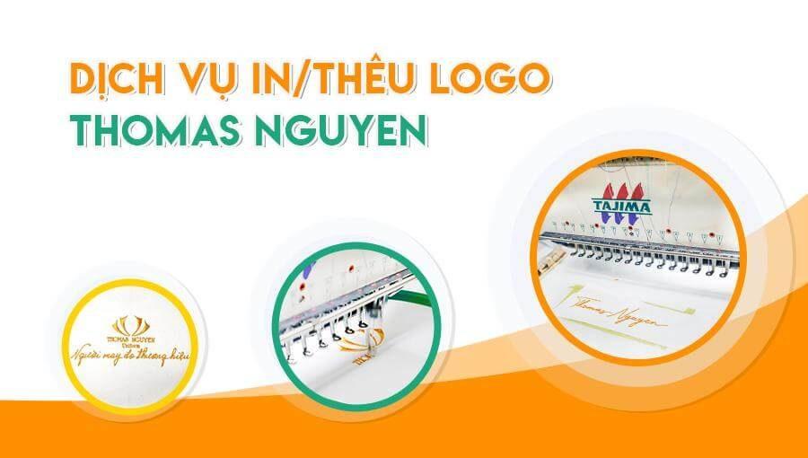 Dịch vụ in thêu logo