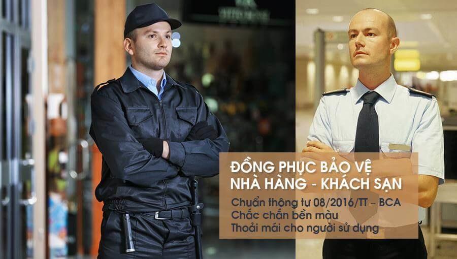 Đồng phục bảo vệ nhà hàng khách sạn