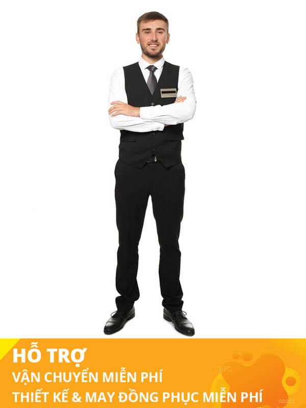 Đồng phục lễ tân khách sạn thomas Nguyen unifrom