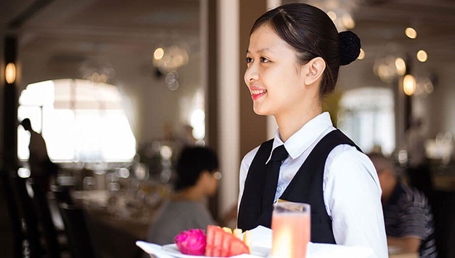 Đồng phục phục vụ nhà hàng – khách sạn