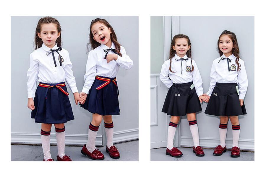 Nên chọn loại đồng phục học sinh tiểu học nào?