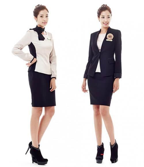 Mẫu trang phục quản lý nữ