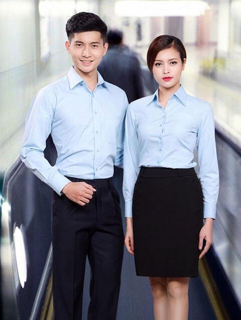 Đồng phục sơ mi - Top 10 mẫu áo sơ mi cao cấp phổ biến nhất hiện nay