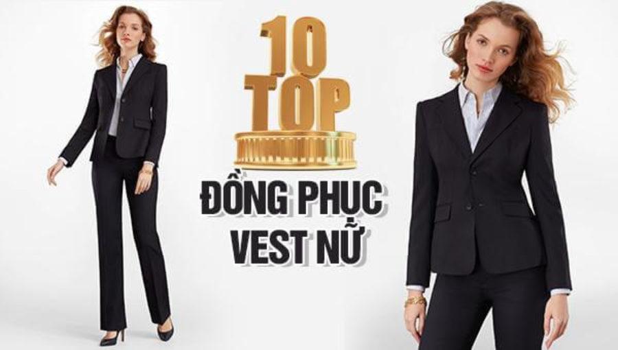 10 mẫu đồng phục vest nữ thịnh hành nhất