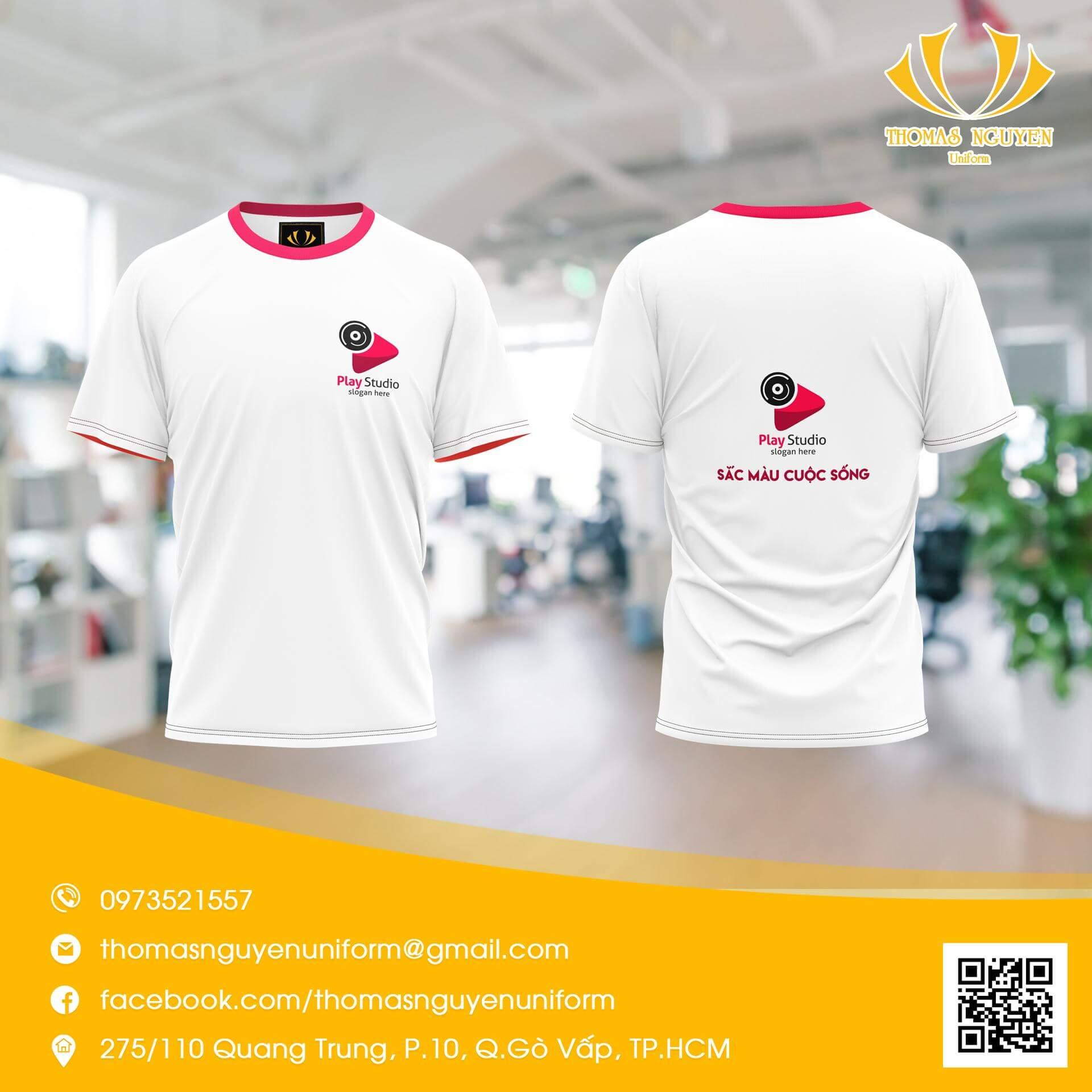 Áo thun đồng phuc, may đồng phục