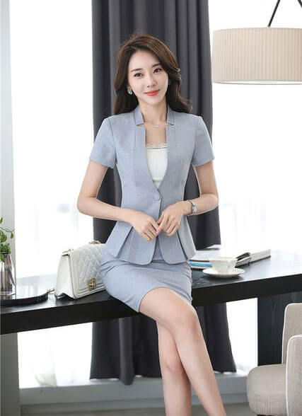 đồng phục công ty, vest nữ