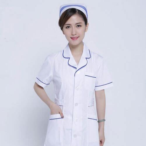áo blouse dược sĩ