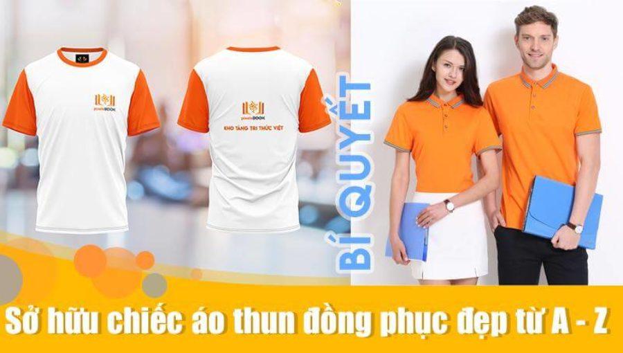 May áo thun đồng phục | Bí quyết sở hữu chiếc áo thun đẹp từ A – Z
