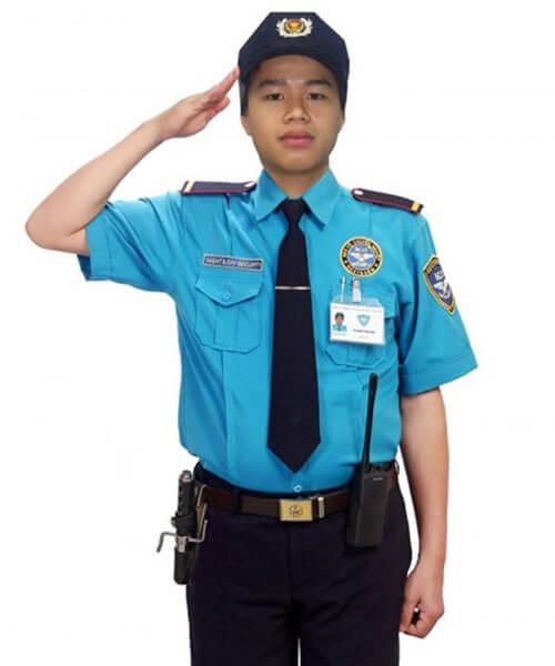 Mẫu đồng phục bảo vệ