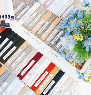 đa dạng nhiều loại vải