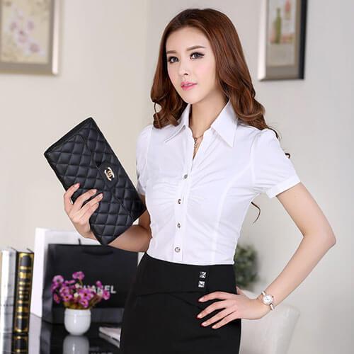 đồng phục sơ mi công sở nữ