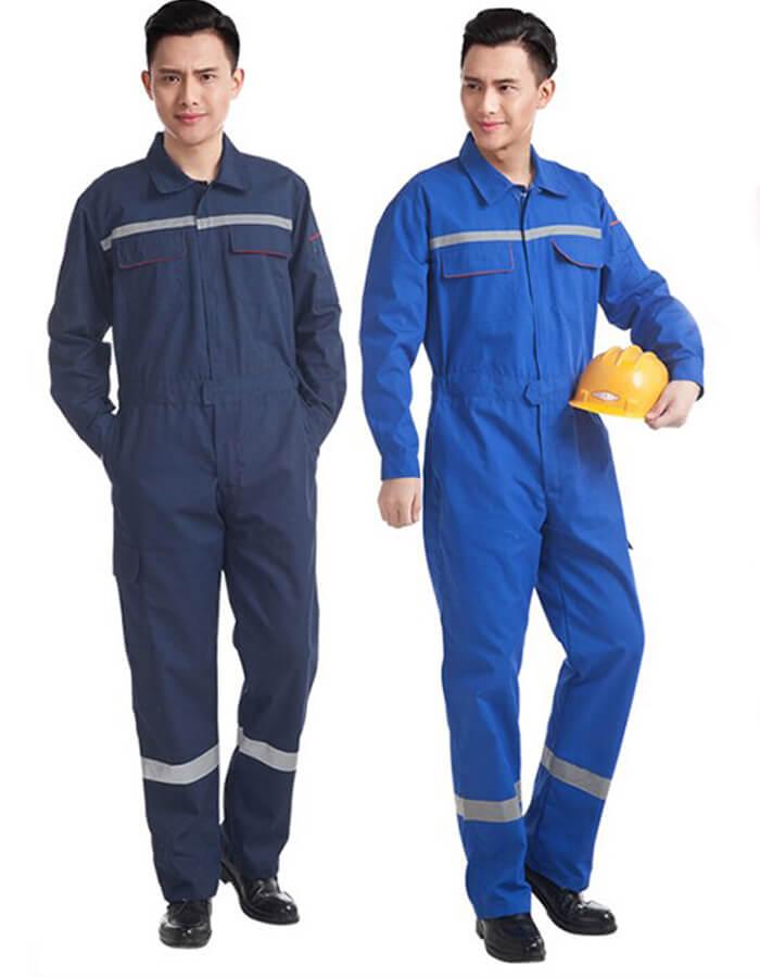 Các loại đồ bảo hộ lao động liền thân