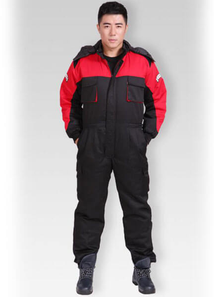 đồng phục nhân viên điện lực màu xanh đỏ