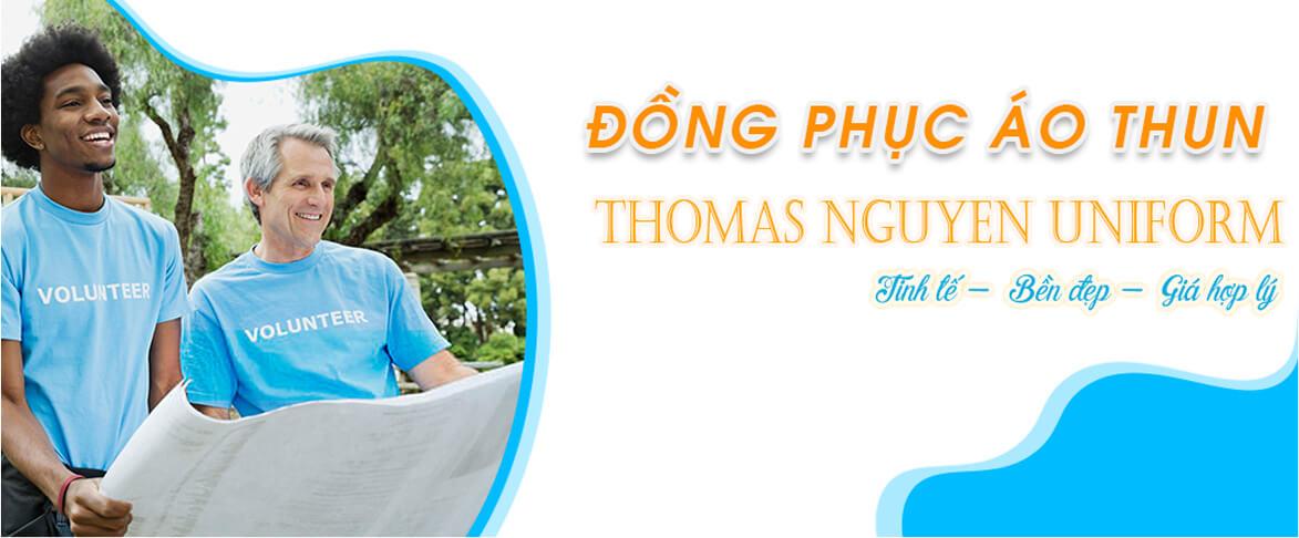 Slider may áo thun đồng phục Thomas Nguyen