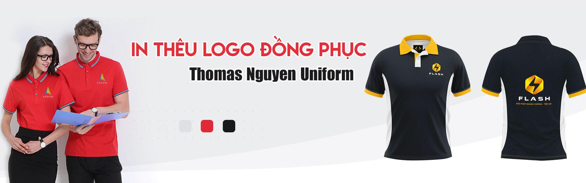 Banner in thêu logo đồng phục