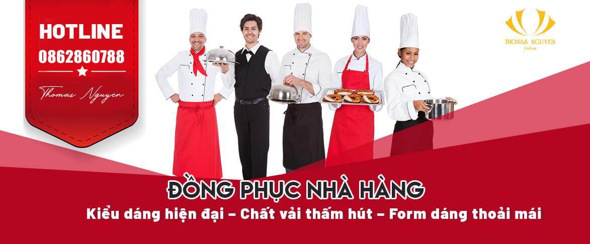 banner đồng phục nhà hàng khách sạn