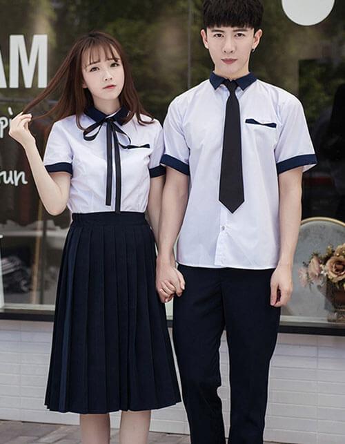 mẫu đồng phục học sinh