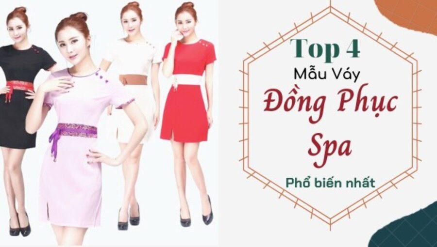 Top 3 Mẫu Váy Đồng Phục Spa Được Ưa Chuộng 2020
