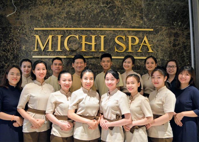 Đồng phục tại Michi Spa
