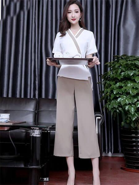 mẫu đồng phục spa nữ đẹp