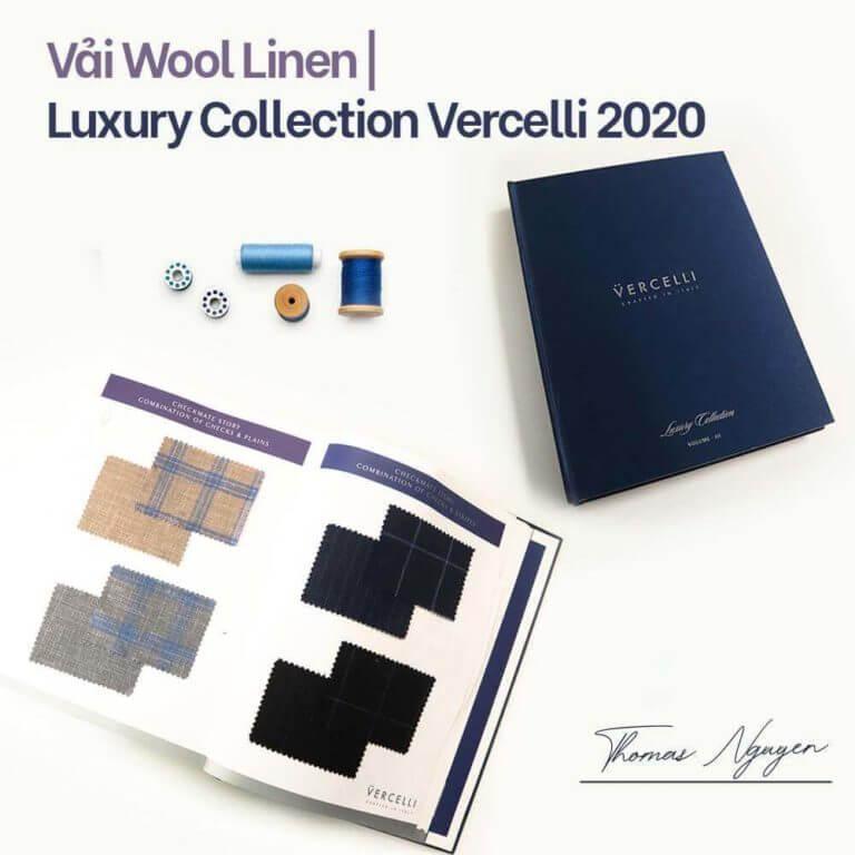 vải vercelli bst luxury Thomas Nguyen