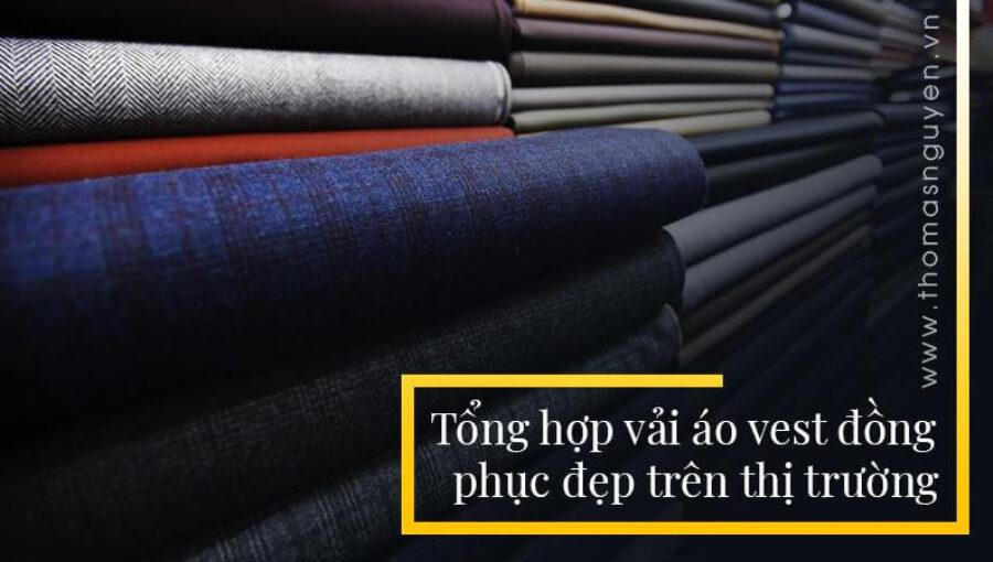 Tổng hợp vải áo vest đồng phục đẹp trên thị trường