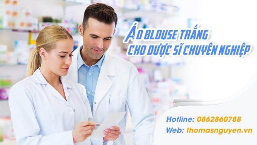 Áo blouse trắng dược sĩ – Phương tiện thể hiện sự chuyên nghiệp của hiệu thuốc