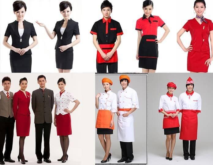 Mẹo chọn Đồng phục cho nhà hàng ăn uống