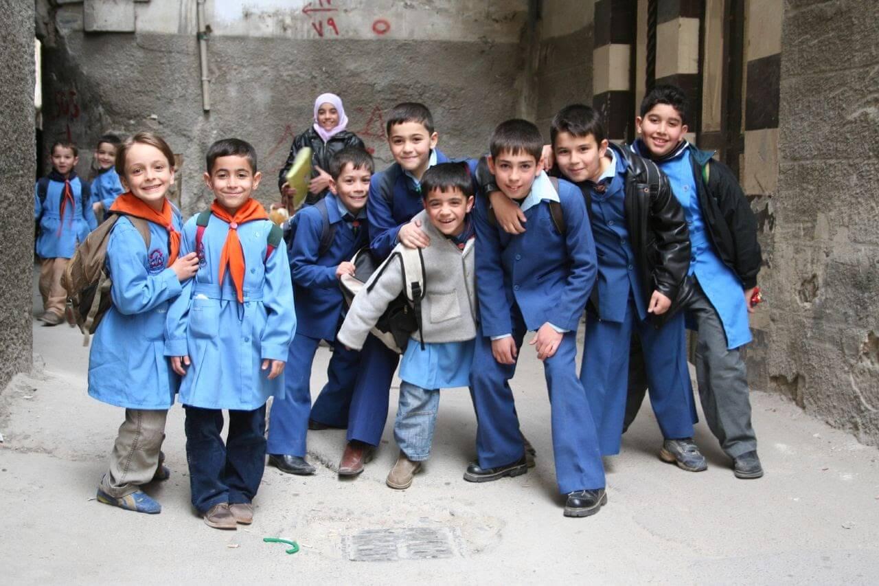 Đồng phục học sinh Syria