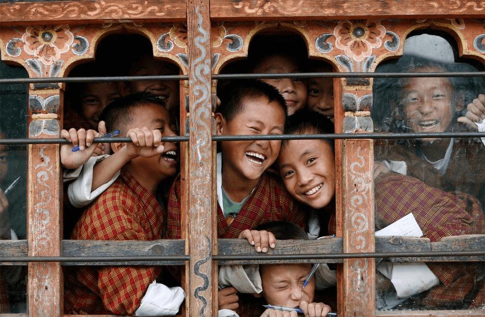 Đồng phục học sinh Bhutan