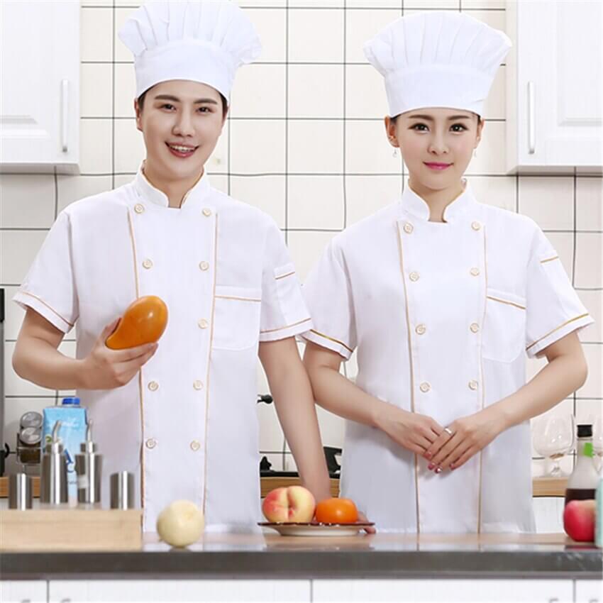 Ý tưởng đồng phục theo áo đầu bếp