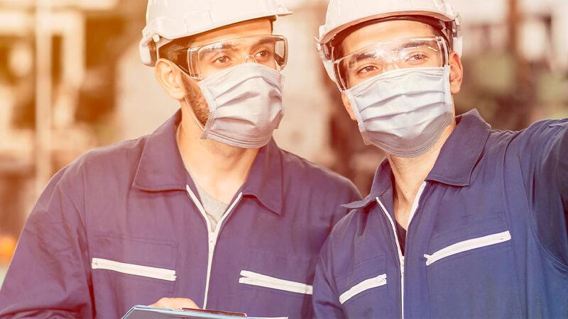 Đồng phục bảo hộ lao động bảo vệ mắt
