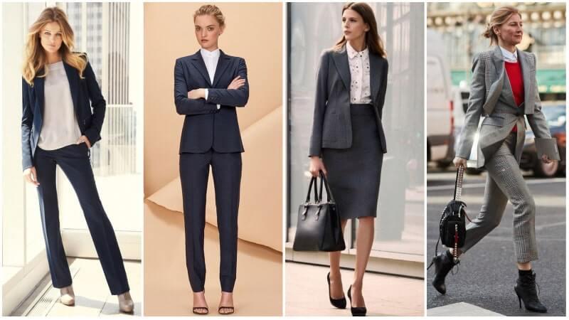Đồng phục vest nữ công sở cho các buổi gặp mặt, thương lượng với đối tác