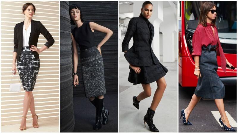 Váy công sở nữ