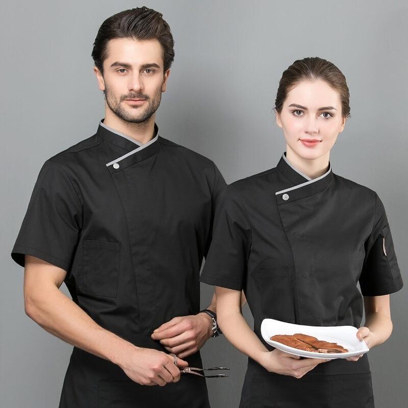 Bởi vì những ca làm việc dài, đồng phục nhà hàng cần phải thoải mái
