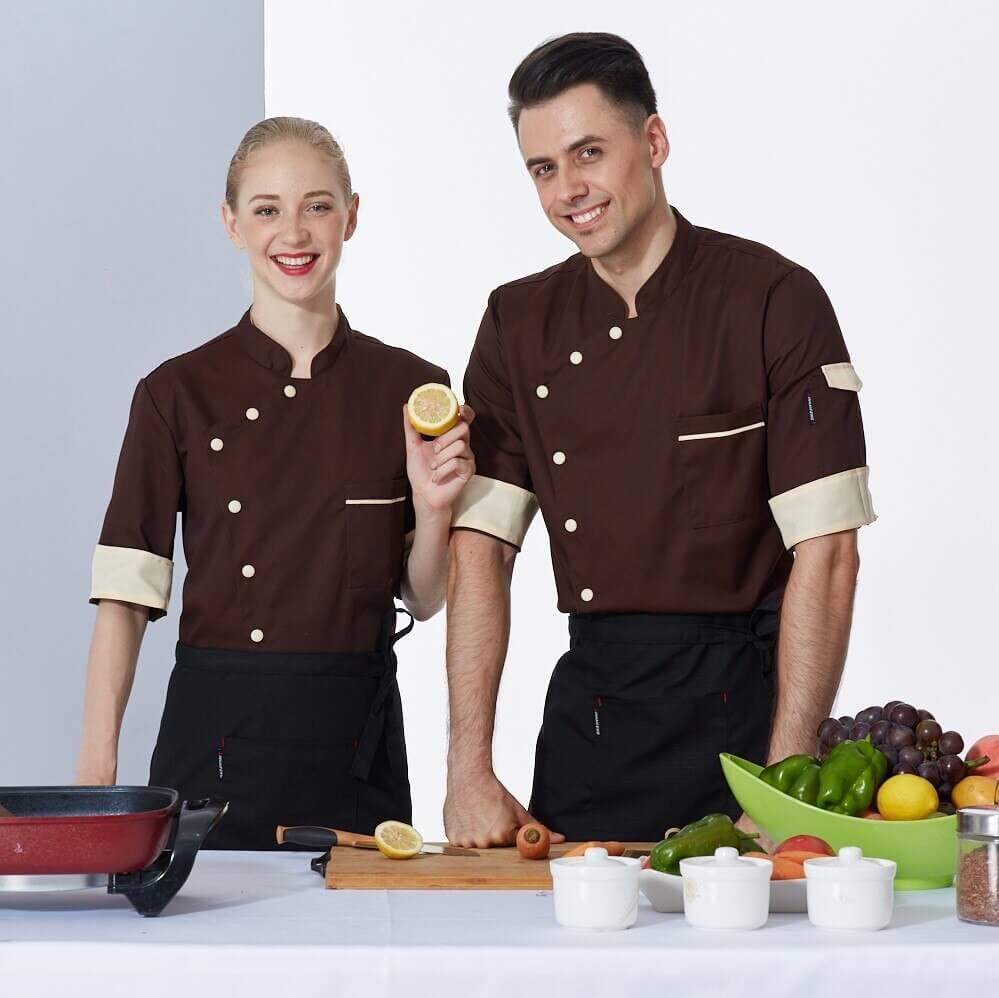 Đồng phục nhà hàng phải bền