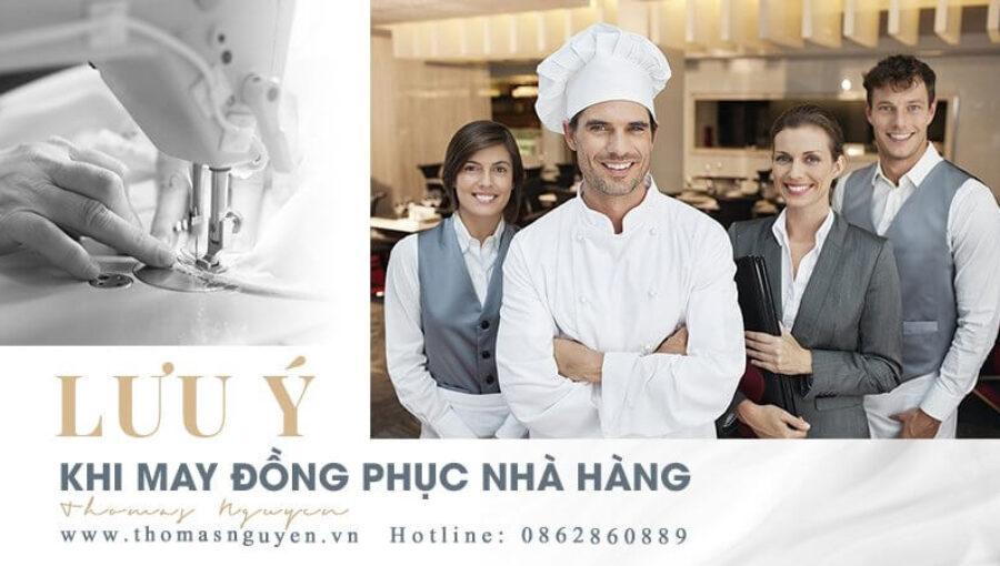 DN có thể hưởng lợi từ những lưu ý đơn giản này khi may đồng phục nhà hàng