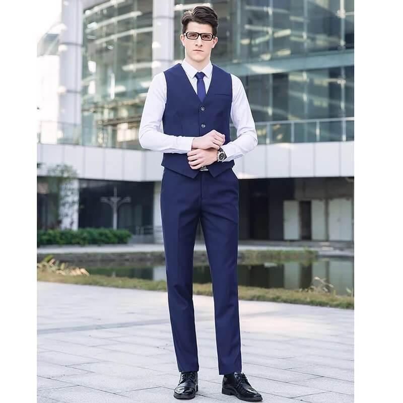 Nên chọn vest 2 mảnh hay 3 mảnh là đông phục công sở