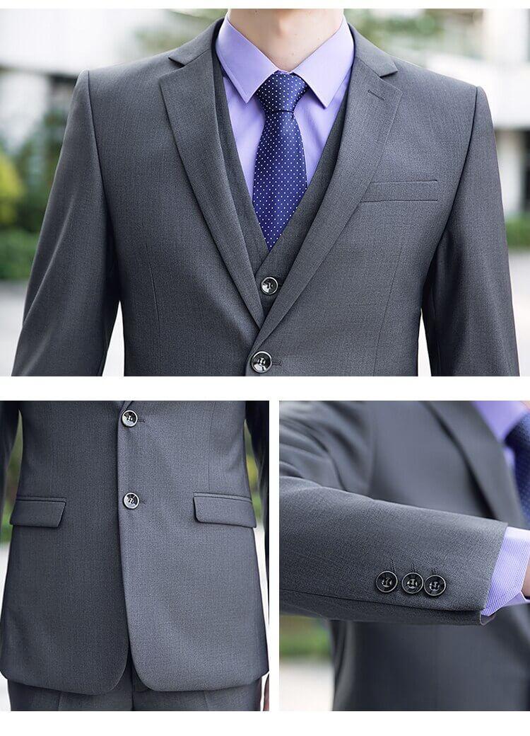 Thêm sự tinh tế cho vest bằng cà vạt