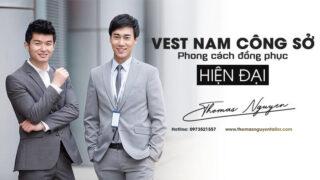 Vest nam công sở – Phong cách đồng phục văn phòng hiện đại