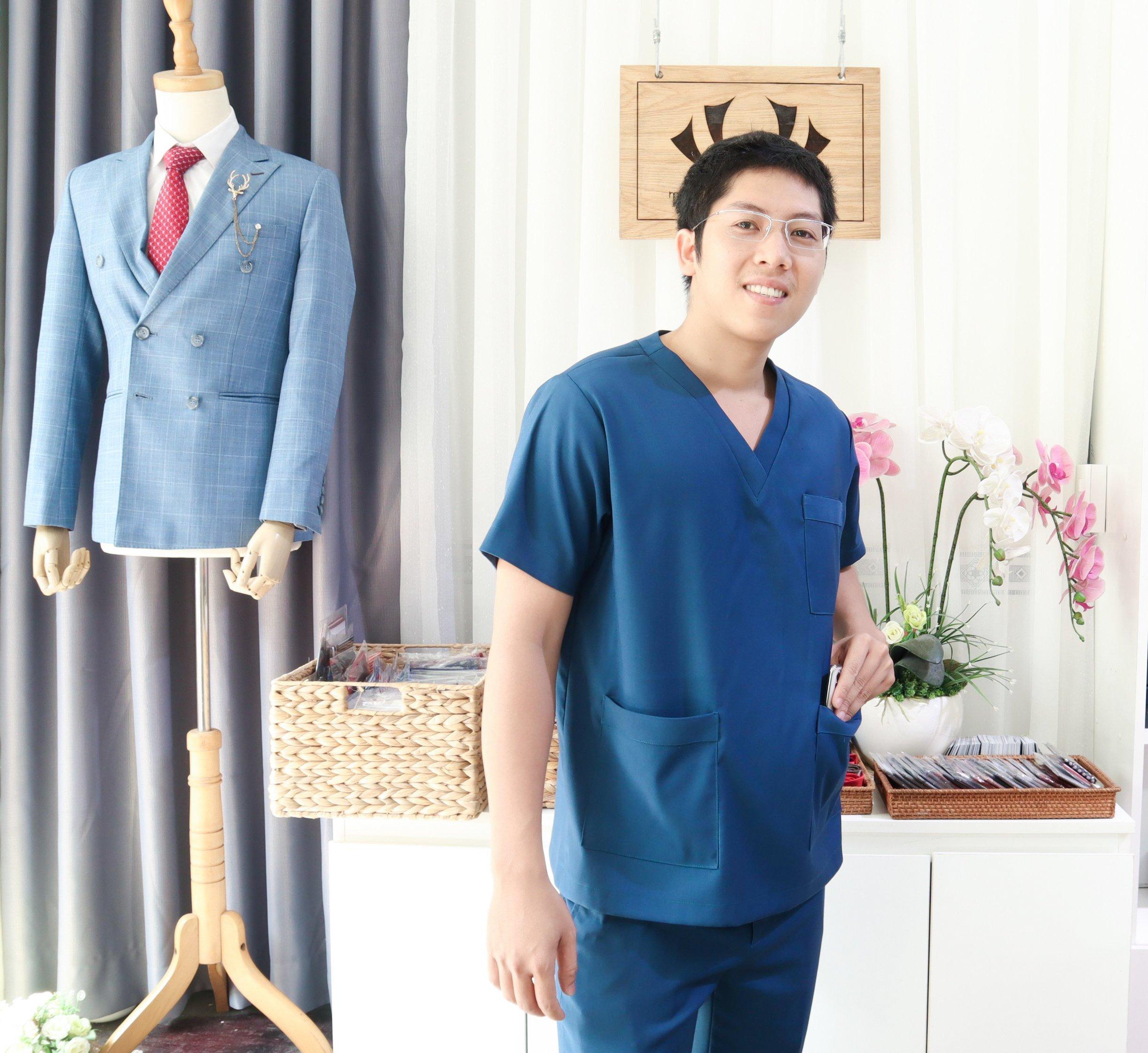 Đồng phục bác sĩ nha
