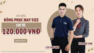 Bảng size đồng phục chuẩn nhất và Ưu đãi trợ giúp DN may đồng phục mùa COVID tại Thomas Nguyen Uniform