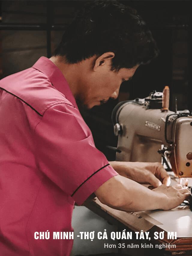 Thợ may đo Thomas Nguyen