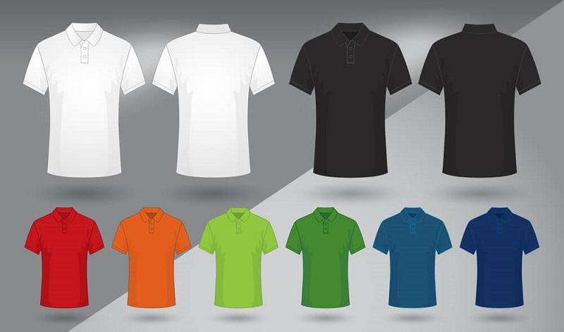 Áo thun polo đồng phục có nhiều màu sắc